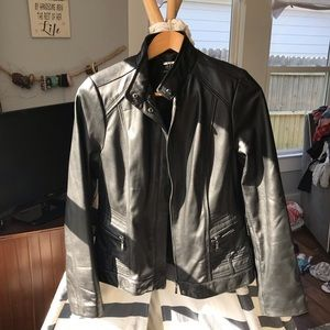 Like New Lambs Skin a.n.a Moto Jacket Medium